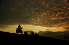 Por la mañana Imagen de archivo