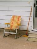 Por la puerta lateral Imagen de archivo libre de regalías