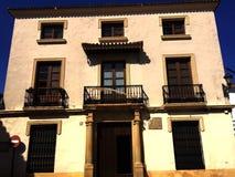 Por las calles de Granada Royaltyfri Bild
