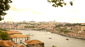 Por porto from hill Royalty Free Stock Image