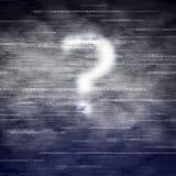 Por que computação da nuvem? Imagens de Stock