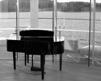 Por que o piano é desligado? Fotos de Stock