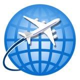 Por todo el mundo viajando Foto de archivo libre de regalías