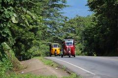 Por Tuk Tuk al Mirador Catalina - Laguna de Apoyo - Nicaragua fotos de archivo