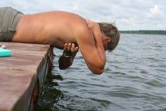 pora na kąpiel Obraz Royalty Free
