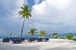 Porada Haad Sivalai plaża na Mook wyspie Obraz Stock