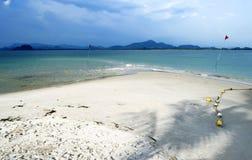 Porada Haad Sivalai plaża na Mook wyspie Fotografia Stock