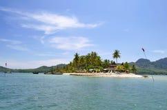 Porada Haad Sivalai plaża na Mook wyspie Zdjęcia Stock