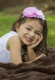 Porait de petite fille Image libre de droits