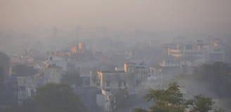 poranna nowego delhi zdjęcia stock