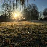 poranny wschód słońca Zdjęcie Royalty Free