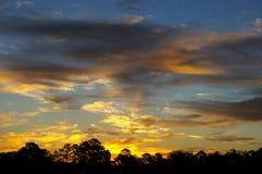 poranny wschód słońca Zdjęcia Royalty Free