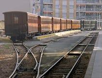 porannym pociągiem obraz stock