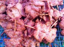 Porc avec l'ail Image libre de droits