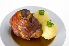 porc bavarois de porte-fusée Photo libre de droits
