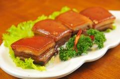 Porc braisé photo stock