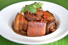 Porc braisé image stock