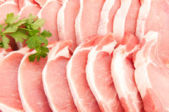 Porc chops Royalty Free Stock Images