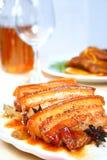 Porc cuit Image libre de droits