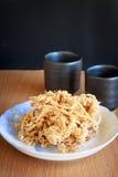 Porc déchiqueté sec Photo stock