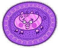Porc décoratif Photographie stock