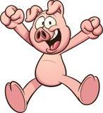 Porc de bande dessinée Image libre de droits