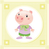 Porc de chéri Images stock