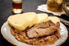Porc de chou de boulette Images stock