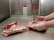 Porc de coupe Image libre de droits