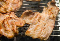 Porc de gril Photos stock