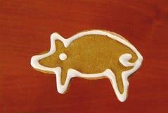 porc de pain d'épice Photographie stock libre de droits