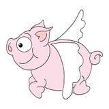 Porc de vol Images libres de droits