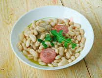 Porc do pur de Cassoulet Foto de Stock