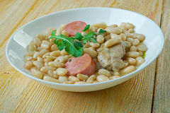 Porc do pur de Cassoulet Fotografia de Stock