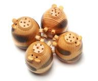 Porc en bois Images stock