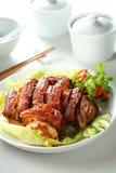 Porc et igname de chine Images libres de droits