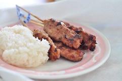 Porc grillé Photos stock
