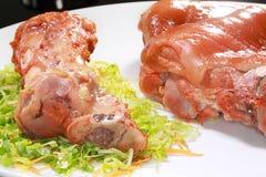 Porc fraîchement cuit Photos stock