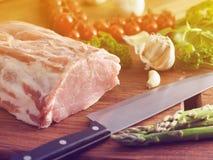 porc frais cru photos stock