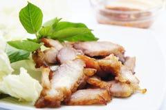 Porc grillé Photo stock
