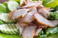 Porc grillé Photographie stock libre de droits