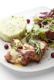 Porc grillé Images stock