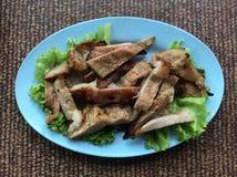 Porc grillé Photo libre de droits