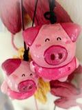 Porc heureux image stock