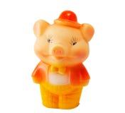 Porc - jouet Photographie stock libre de droits