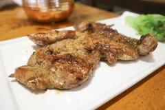 Porc ou bifteck grillé de porc Photographie stock