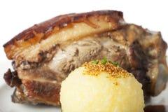 Porc rôti par Bavarois images libres de droits