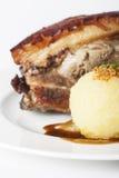Porc rôti par Bavarois photographie stock libre de droits