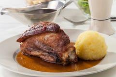 Porc rôti par Bavarois image stock