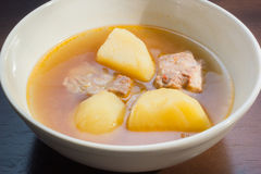 Porc Rib Soup Photos libres de droits